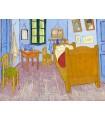 Bedroom in Arles (3rd version) (van Gogh, 1889)