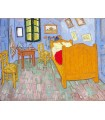 Bedroom in Arles (2nd version) (van Gogh, 1889)