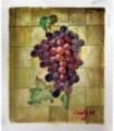 "Racimo uvas "" Cindy M.""-Óleo s/lienzo"