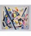 La geometría en lo abstracto -Óleo s/lienzo