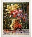 Jarrón flores impresionista 3-Óleo s/lienzo