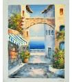 Rincón mediterráneo 1 - Óleo s/lienzo