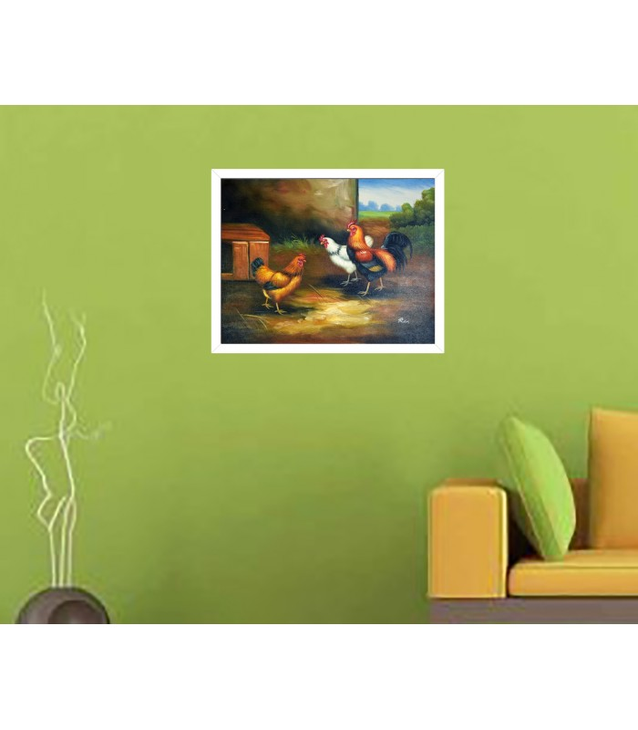 Comprar Cuadros Abstracto Manchas fussia-plata 2 Baratos Online