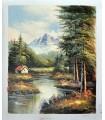 "Landscape ""Brian 3"" - Oil on canvas"